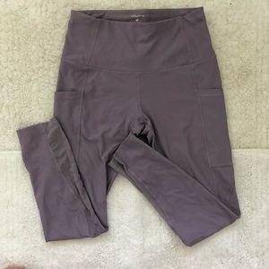 Dusty Purple workout legging